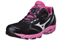 Mizuno Aero 9 Chaussures course Femme Wave rose/noir